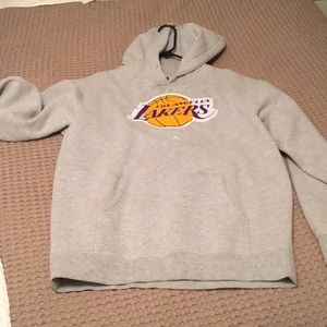 Men's small Lakers sweatshirt